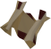 Mysterious clue scroll (You Are It) detail