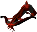 Off-hand dragon crossbow detail