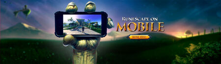 RuneScape on Mobile head banner