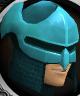 Rune med helm chathead