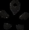 Black goblin mail detail