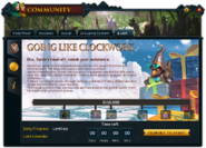 Community (Going Like Clockwork) interface 1