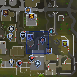 Guard (East Varrock) location