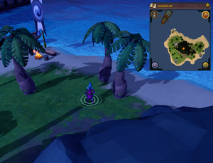 Scan clue Turtles second island south-east of Halia