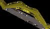 Arco curto de teixo detalhe