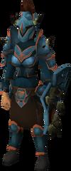 Bandos armour set (sk) equipped