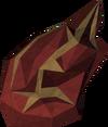Flame fragment (warrior) detail