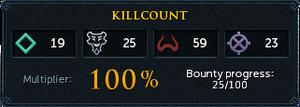 Killcount (Heart of Gielinor)