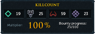Killcount (Heart of Gielinor)