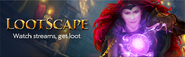 Lootscape lobby banner