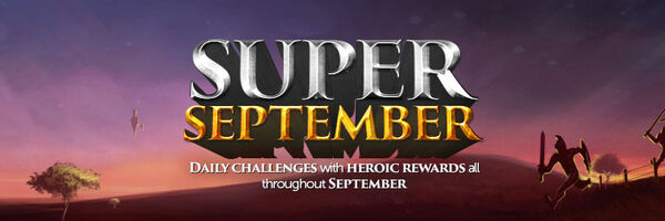 Super September Header