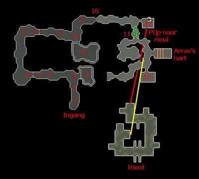 Zemouregals basis plattegrond met aantekingen