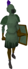 Adamant armour set (sk) equipped old
