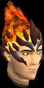 Flameheart headgear chathead