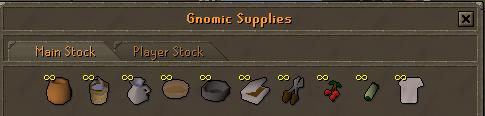 Gnomecopters kauppa