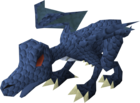 Hatchling dragon (blue) pet old