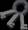 House keys detail
