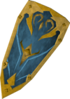 Rune kiteshield (g) detail