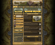 Runescape Homepage - Mobilising Armies