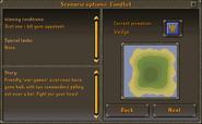 Scenario options - Conflict