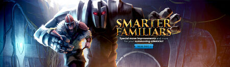 Smarter Familiars head banner