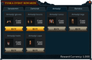 Tuska Event Rewards (Armadyl)