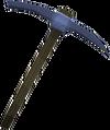 Argonite pickaxe detail