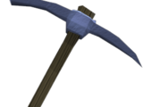 Argonite pickaxe