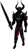Black Knight guard