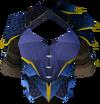 Blue dragonhide body (g) detail