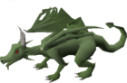 Brutal green dragon old