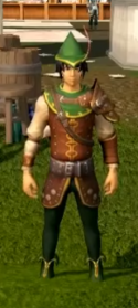 Elite Robin Hood equipment equipped