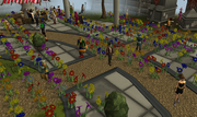 Flowers in Grand Exchange