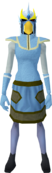 Mighty slayer helmet (cf) (yellow) equipped.png