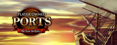 Player-Owned Ports banner