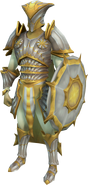 Sunfury Armour (Tier 1) equipped