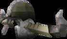 Warrior helm detail