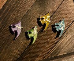 Angelscape spirit shield pins news image