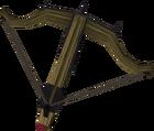 Black crossbow detail