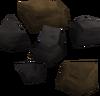 Black ore detail