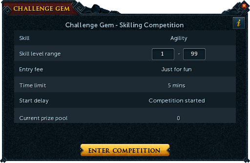 Challenge gem interface 3