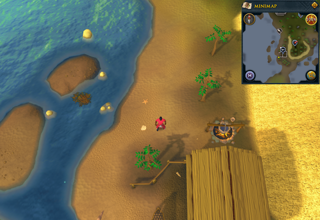 File:Compass clue Port Sarim north of Thurgo's hut.png