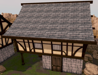 Gaius's Two-Handed Shop exterior