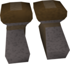 Iron boots old