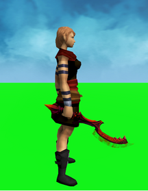 Khopesh of Tumeken (blood) equipped