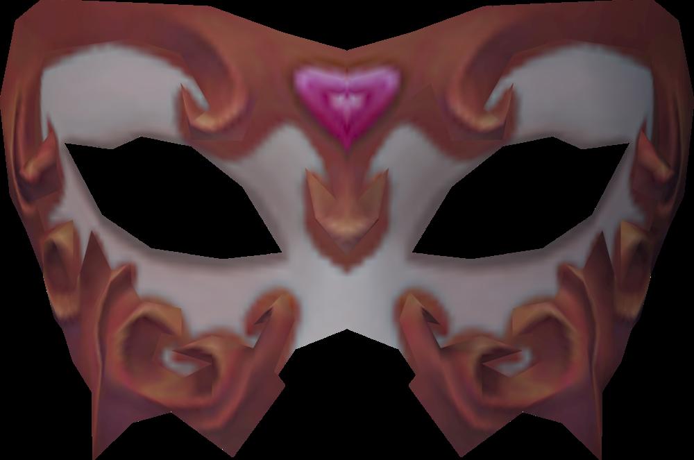 Masquerade mask detail