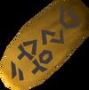 Selo de ouro detalhe