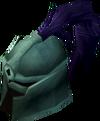 Adamant full helm (e) detail