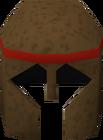 Bronze helm detail old