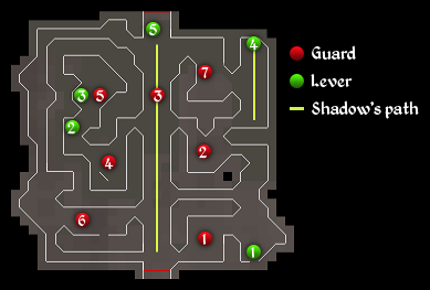 Dishonour among Thieves room 3 map